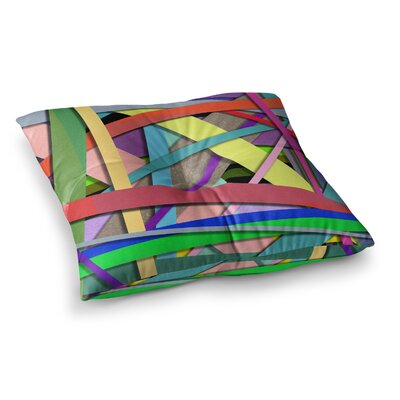 Color Mood Illustration by Ivan Joh Floor Pillow Size: 26 x 26