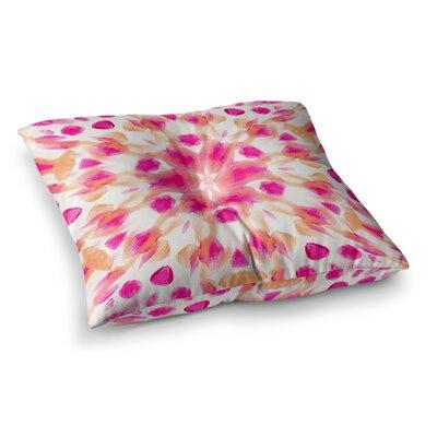 Batik Mandala by Iris Lehnhardt Floor Pillow Size: 26 x 26