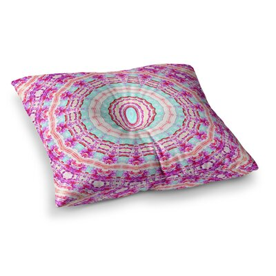 Happy Circle by Iris Lehnhardt Floor Pillow Size: 26 x 26