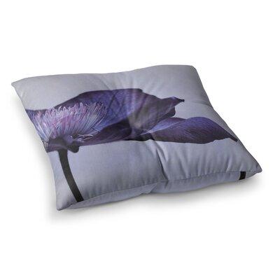 Indigo Sky by Iris Lehnhardt Floor Pillow Size: 23 x 23