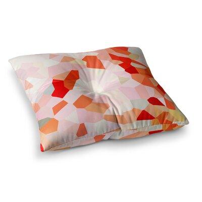 Oooh La La Pixel by Iris Lehnhardt Floor Pillow Size: 23 x 23