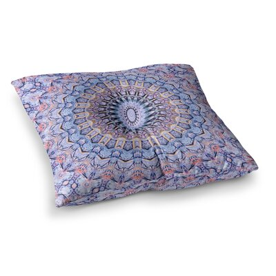 Summer Lace II Circle by Iris Lehnhardt Floor Pillow Size: 26 x 26
