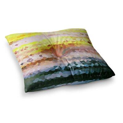 Turaluraluraluuu Pixel by Iris Lehnhardt Floor Pillow Size: 26 x 26