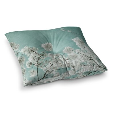 Flowering Season by Iris Lehnhardt Floor Pillow Size: 23 x 23