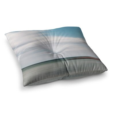 June Beach by Iris Lehnhardt Floor Pillow Size: 23 x 23