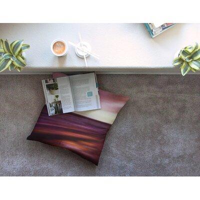 Seascape Sunset by Iris Lehnhardt Floor Pillow Size: 23 x 23