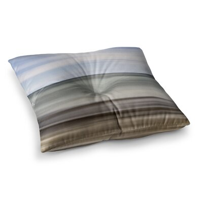 Abstract Beach by Iris Lehnhardt Floor Pillow Size: 26 x 26