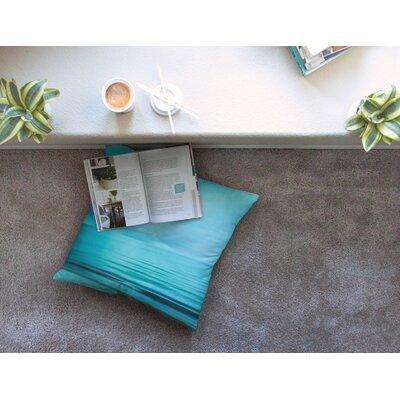 Calm Sea by Iris Lehnhardt Floor Pillow Size: 23 x 23