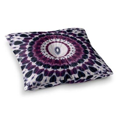 Batik Pattern Geometric by Iris Lehnhardt Floor Pillow Size: 23 x 23