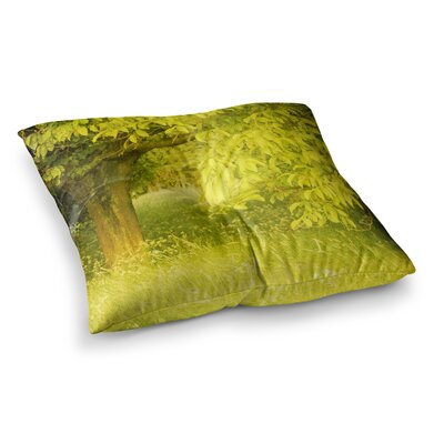 Summer Tree by Iris Lehnhardt Floor Pillow Size: 26 x 26