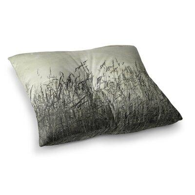 Summer Grasses Neutral by Iris Lehnhardt Floor Pillow Size: 23 x 23