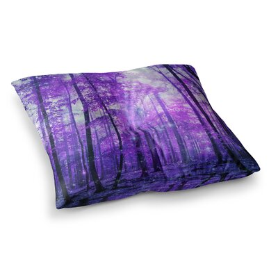 Magic Woods Forest by Iris Lehnhardt Floor Pillow Size: 26 x 26