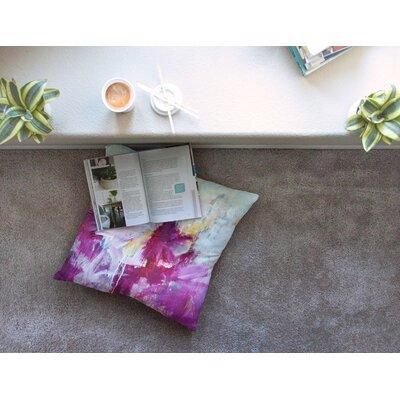 Magenta by Iris Lehnhardt Floor Pillow Size: 26 x 26