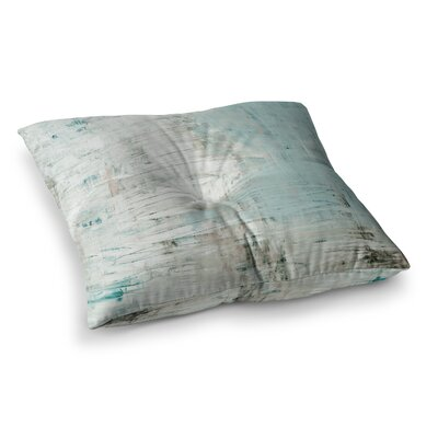 Bluish Neutral by Iris Lehnhardt Floor Pillow Size: 26 x 26