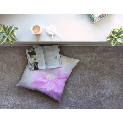Wind Flower Floral by Iris Lehnhardt Floor Pillow Size: 26 x 26