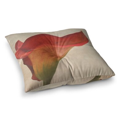 Calla Flower by Iris Lehnhardt Floor Pillow Size: 26 x 26