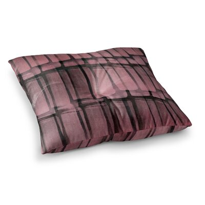 Reddish by Iris Lehnhardt Floor Pillow Size: 23 x 23