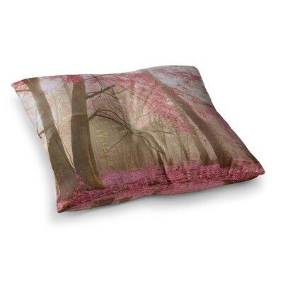Atmospheric Autumn by Iris Lehnhardt Floor Pillow Size: 23 x 23