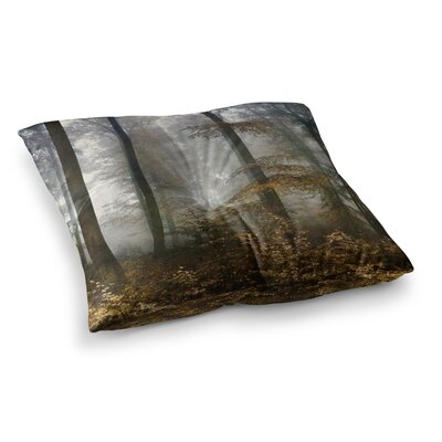 Forest Mystics by Iris Lehnhardt Floor Pillow Size: 26 x 26