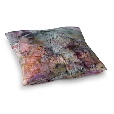 Floating Colors by Iris Lehnhardt Floor Pillow Size: 26 x 26