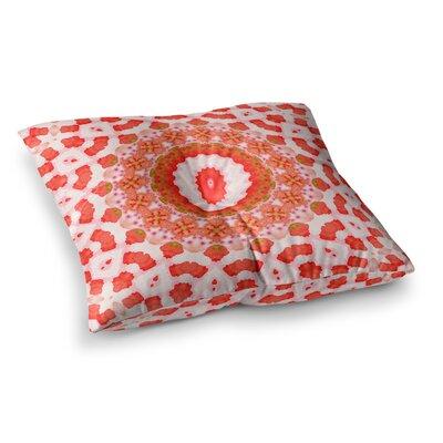 Mandala I by Iris Lehnhardt Floor Pillow Size: 23 x 23