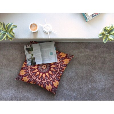 Colors of Africa by Iris Lehnhardt Floor Pillow Size: 26 x 26