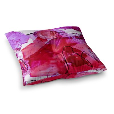 Abstract by Iris Lehnhardt Floor Pillow Size: 26 x 26