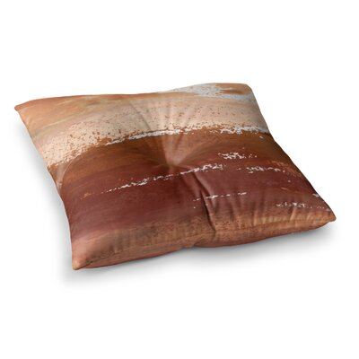 Cinnamon Chai Painting by Iris Lehnhardt Floor Pillow Size: 26 x 26