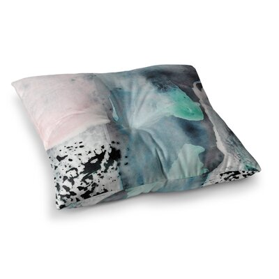 Abstract Pastel by Iris Lehnhardt Floor Pillow Size: 26 x 26