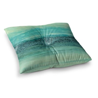 Oceanic by Iris Lehnhardt Floor Pillow Size: 23 x 23