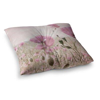 Summer Dream Floral by Iris Lehnhardt Floor Pillow Size: 23 x 23