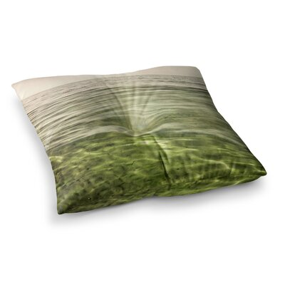 Mystic Sea by Iris Lehnhardt Floor Pillow Size: 23 x 23