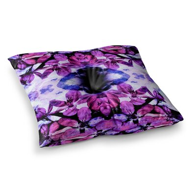Boho Floral Digital by Iris Lehnhardt Floor Pillow Size: 26 x 26