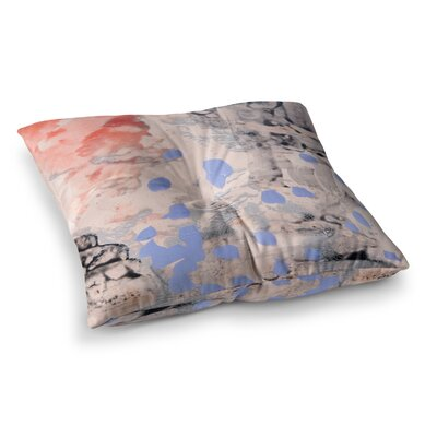 Mix Painting by Iris Lehnhardt Floor Pillow Size: 26 x 26