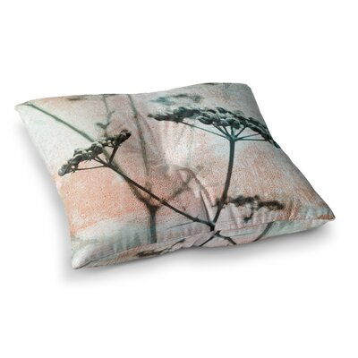 Floral Abstraction 8 Photography by Iris Lehnhardt Floor Pillow Size: 26 x 26