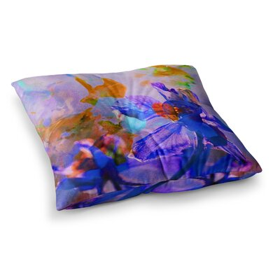 Floral Abstraction 5 Photography by Iris Lehnhardt Floor Pillow Size: 23 x 23