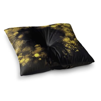 Moonlight Dandelion by Ingrid Beddoes Floor Pillow Size: 23 x 23