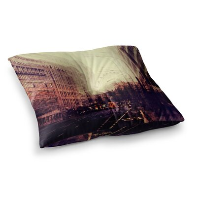 London by Ingrid Beddoes Floor Pillow Size: 26 x 26