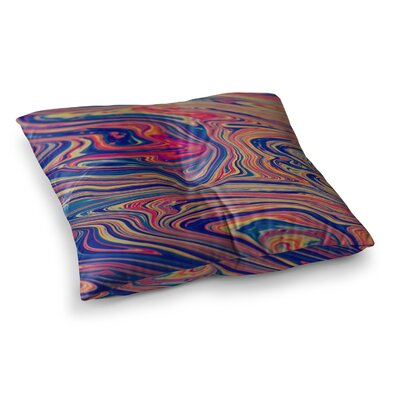 Soap and Water by Ingrid Beddoes Floor Pillow Size: 23 x 23