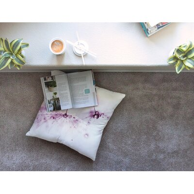 Blush by Ingrid Beddoes Floor Pillow Size: 26 x 26