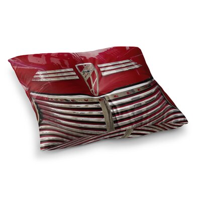 Chevy by Ingrid Beddoes Floor Pillow Size: 23 x 23