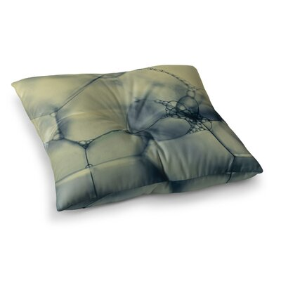Bubbles by Ingrid Beddoes Floor Pillow Size: 26 x 26