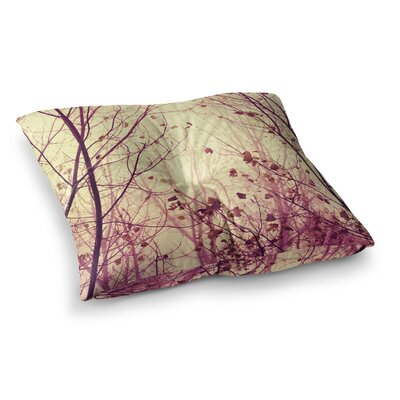 My Secret Garden by Ingrid Beddoes Floor Pillow Size: 26 x 26