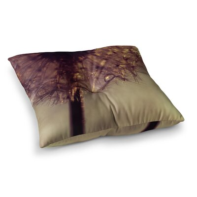 Droplets by Ingrid Beddoes Floor Pillow Size: 23 x 23
