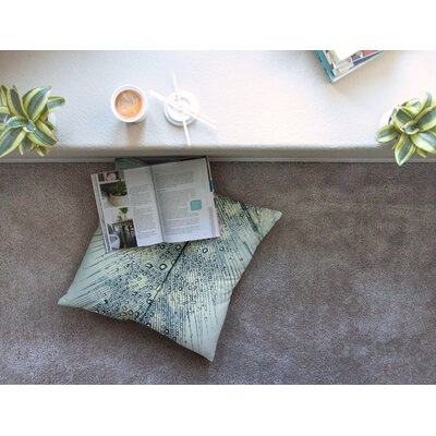 Feather Light by Ingrid Beddoes Floor Pillow Size: 23 x 23