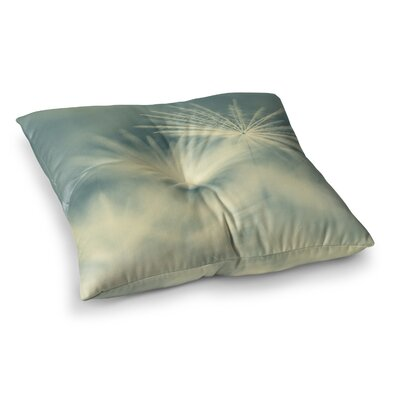 Snowflake by Ingrid Beddoes Floor Pillow Size: 26 x 26