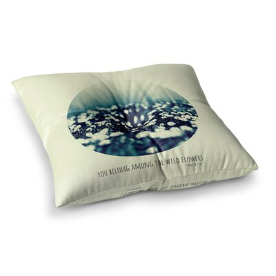 You Belong Circle by Ingrid Beddoes Floor Pillow Size: 23 x 23