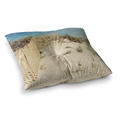 Cape Dunes by Jillian Audrey Floor Pillow Size: 26 x 26