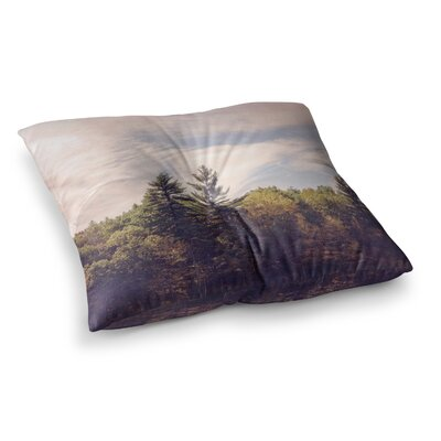 Walden Woods by Jillian Audrey Floor Pillow Size: 23 x 23