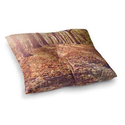 Autumn Hike by Jillian Audrey Floor Pillow Size: 26 x 26